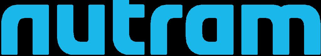 Text nutram i varm ljusblå font