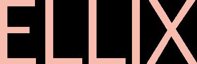 Text Ellix i nuderosa font
